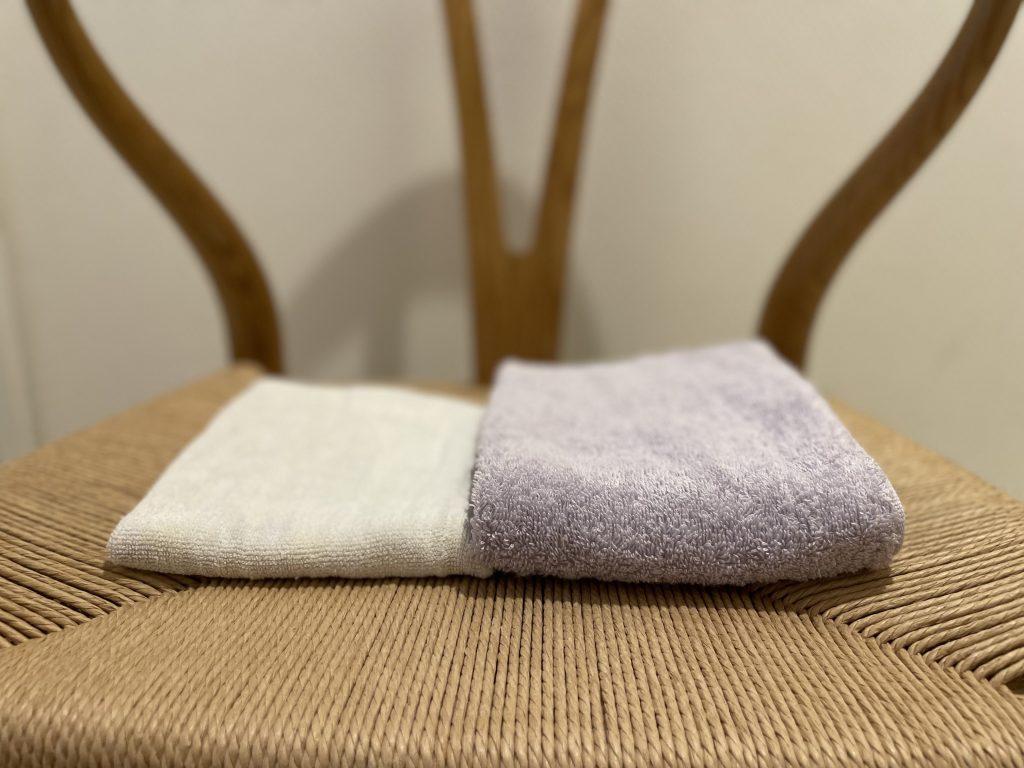 ヒオリエ|ホテルスタイルタオル厚み比較
