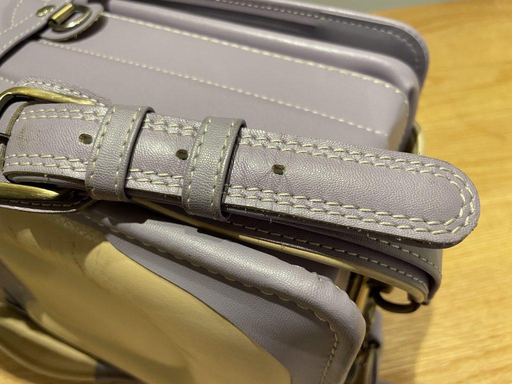 土屋鞄のランドセル 縫製